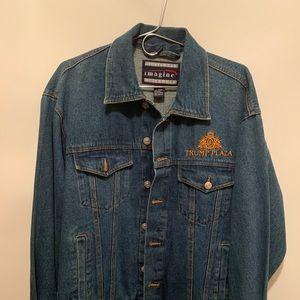 Trump Plaza Donald trump jean jacket large